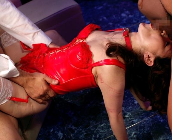 女王様のドエス言葉責めとガーターストッキング脚コキの脚フェチDVD画像5