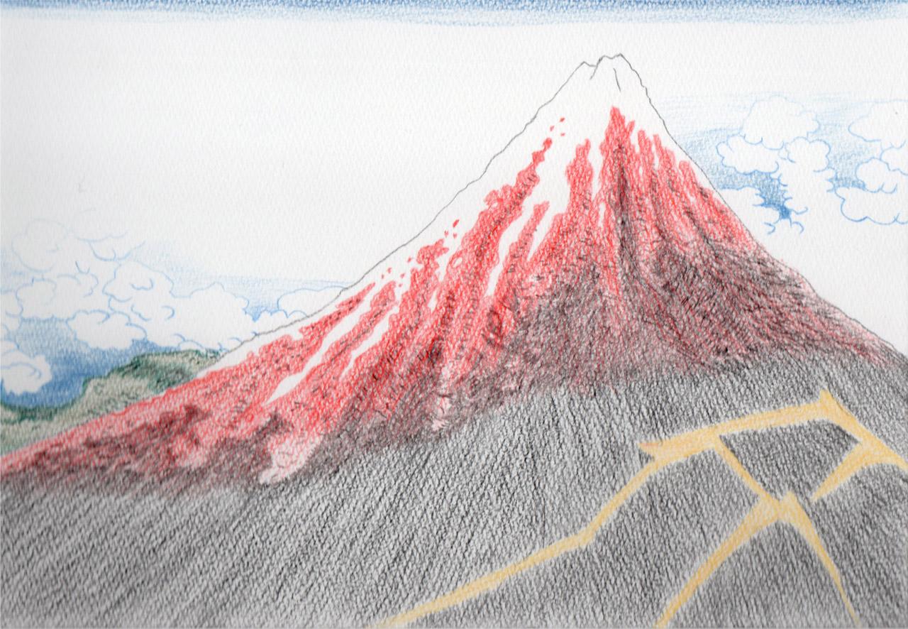 山下白雨の模写