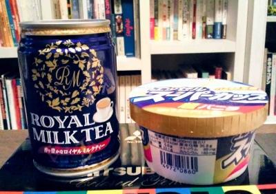 アイスと紅茶