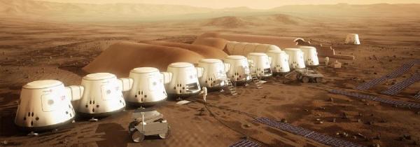 火星の植民計画(Mars One.comのHPより