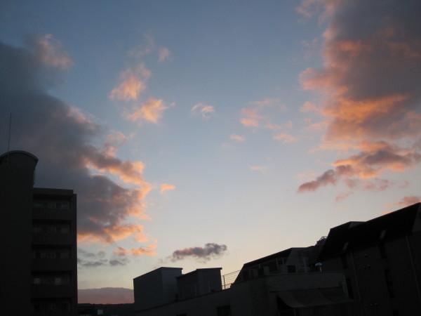 元旦の夜明け