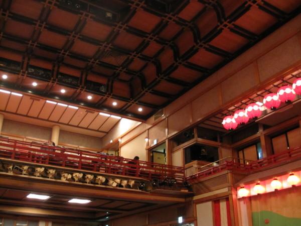 歌舞練場の内部