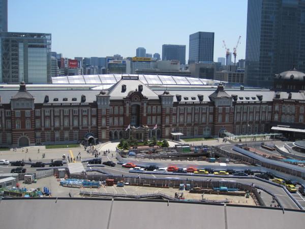 新丸ビルからの眺望