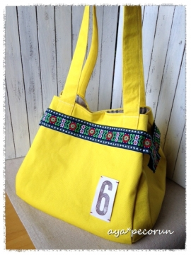 cube tote イエロー②