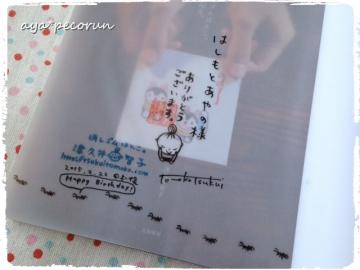 津久井智子さんのサイン