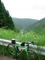 150711持越峠から雲ヶ畑方面を望む