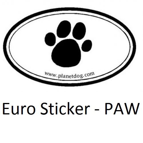 Euro Sticker PAW02