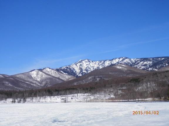 春のバラギ湖&四阿山