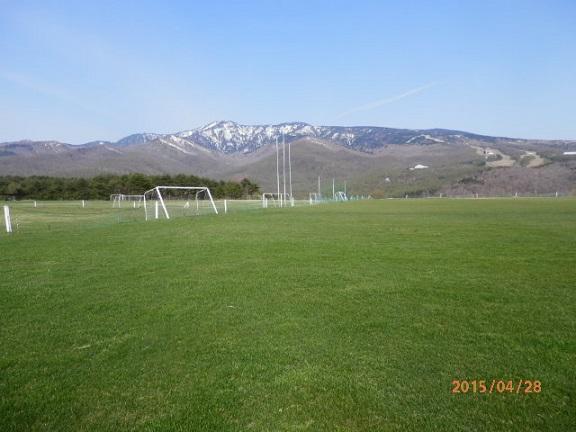 バラギ高原サッカー場