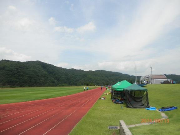 夏合宿 西部運動公園