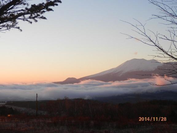 高原の雲海