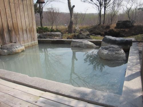 旅館四季露天風呂