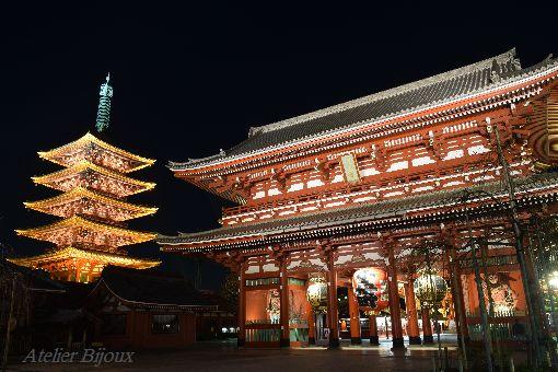 138-宝蔵門-五重塔