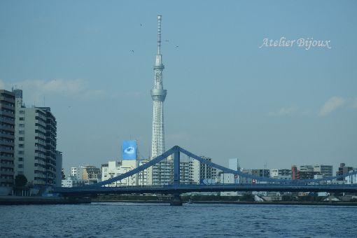 188-隅田川の上からスカイツリー