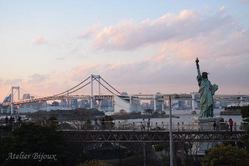 080-女神像-レインボーブリッジ-東京タワー