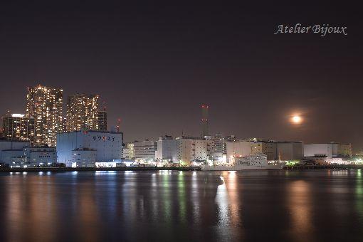 083-竹芝桟橋&月
