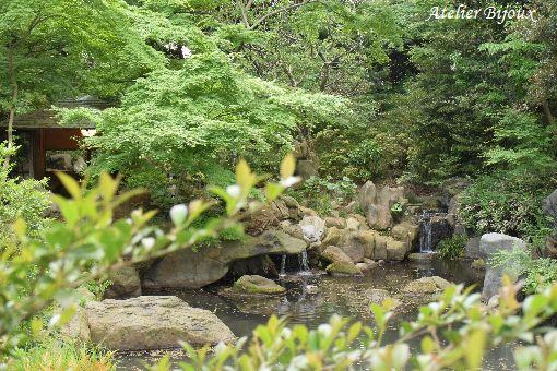 037-六義園滝見の茶屋
