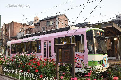 099-薔薇-都電ピーポくん号