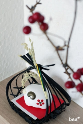 2015年干支飾り