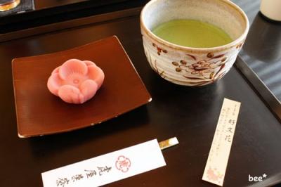 虎屋の茶菓子