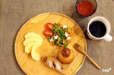 朝食とパン