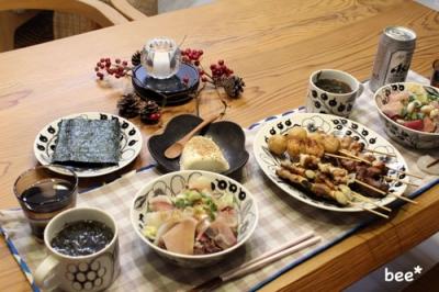 焼き鳥とまき寿司