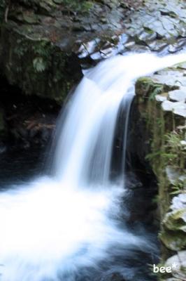 猿田淵の滝.