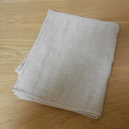 二重ガーゼの麻 バスタオル