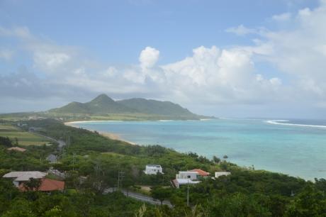 15半島を見下ろす展望台
