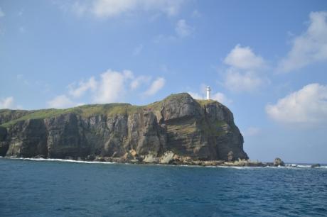 1船から見た西崎灯台