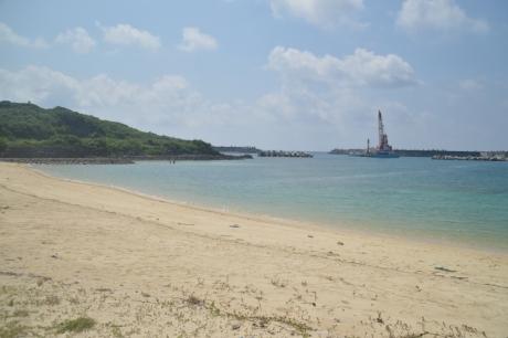 12祖納のナンタ浜