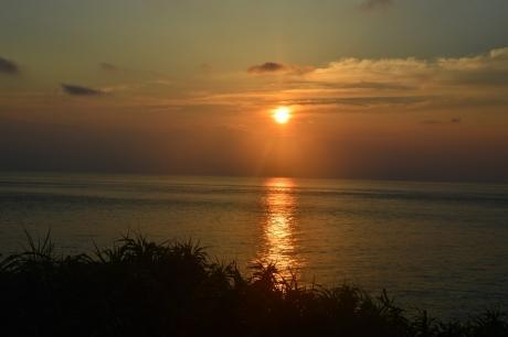 18与那国の夕陽