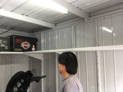 車庫 側面棚7