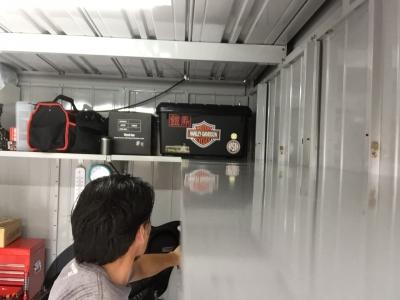 車庫 側面棚6