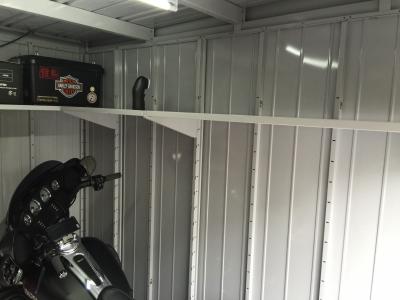 車庫 側面棚8