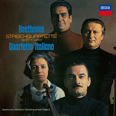 ベートーヴェン イタリア弦楽四重奏曲全集