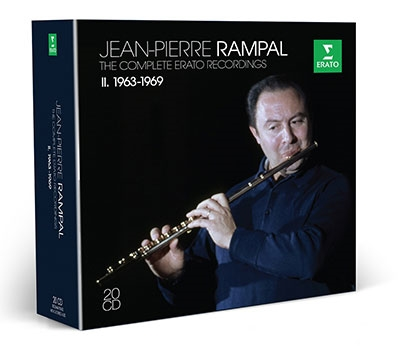ジャンピエール・ランパル コンプリート・エラート・レコーディングス