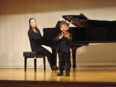 3-29kouのバイオリン発表会