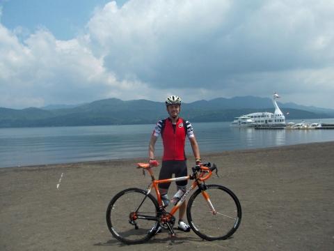 6-19山中湖サイクリング2
