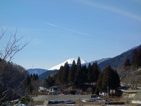 06道志みち午前の富士山