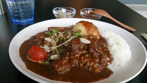 02woof curryスペシャルカレー
