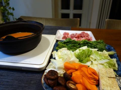 とり野菜鍋1