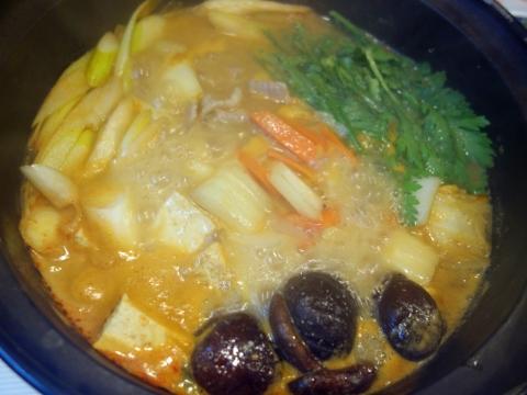 とり野菜鍋3