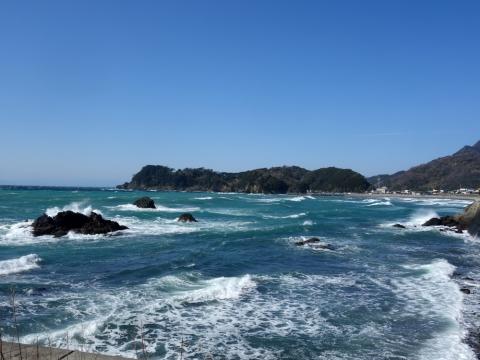 32堂ヶ島へ