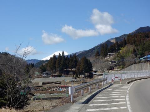 04道志からの富士山