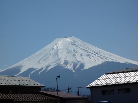 12凍った富士山