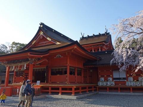 26富士山本宮浅間大社 拝殿と本殿