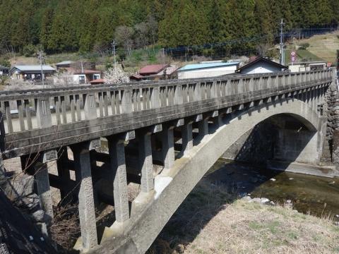 25名栗の橋