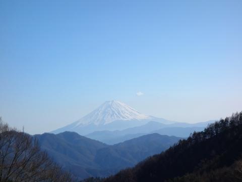 27DH途中の富士山
