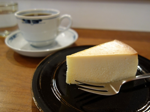 コロンビアとチーズケーキ